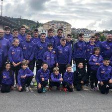 Cuatro victorias para el piragüismo oriental en los Juegos Deportivos disputados en Navia