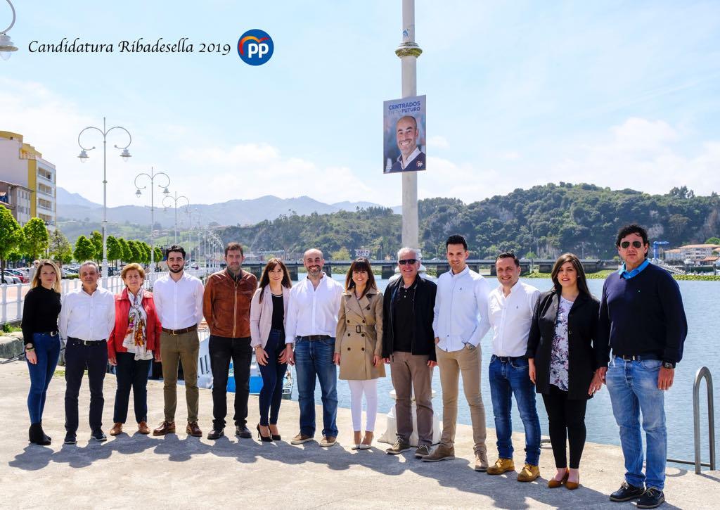 El Partido Popular de Ribadesella se presenta con una candidatura totalmente renovada