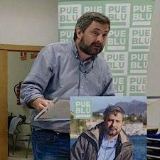 Ricardo Cangas (Pueblu) promete abrir el Ayuntamiento a los riosellanos frente al autoritarismo actual