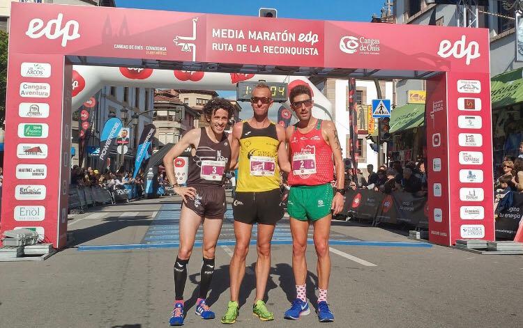 Sergio Sánchez repite victoria en la Ruta de la Reconquista estableciendo un nuevo récord