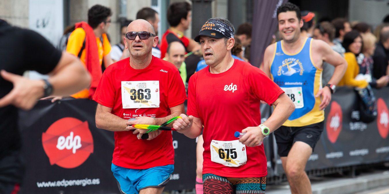 Un corredor con discapacidad visual será liebre en la Media Maratón Ruta de la Reconquista