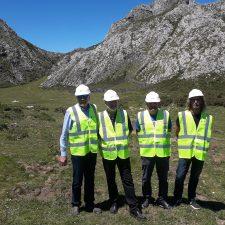 El Principado estudia ampliar los usos del nuevo acceso a la vega de Las Mantegas, en Onís