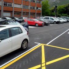 El nuevo aparcamiento de Posada de Llanes queda abierto al público