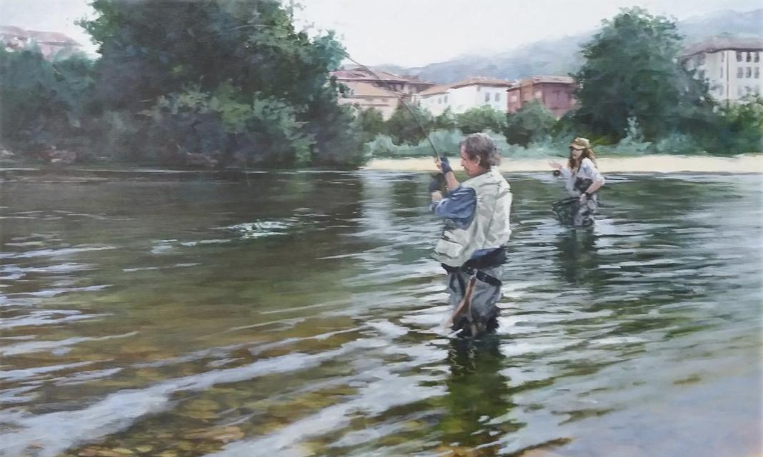 Arriondas dedica su XV Certamen de Pintura al paisaje urbano de la capital parraguesa