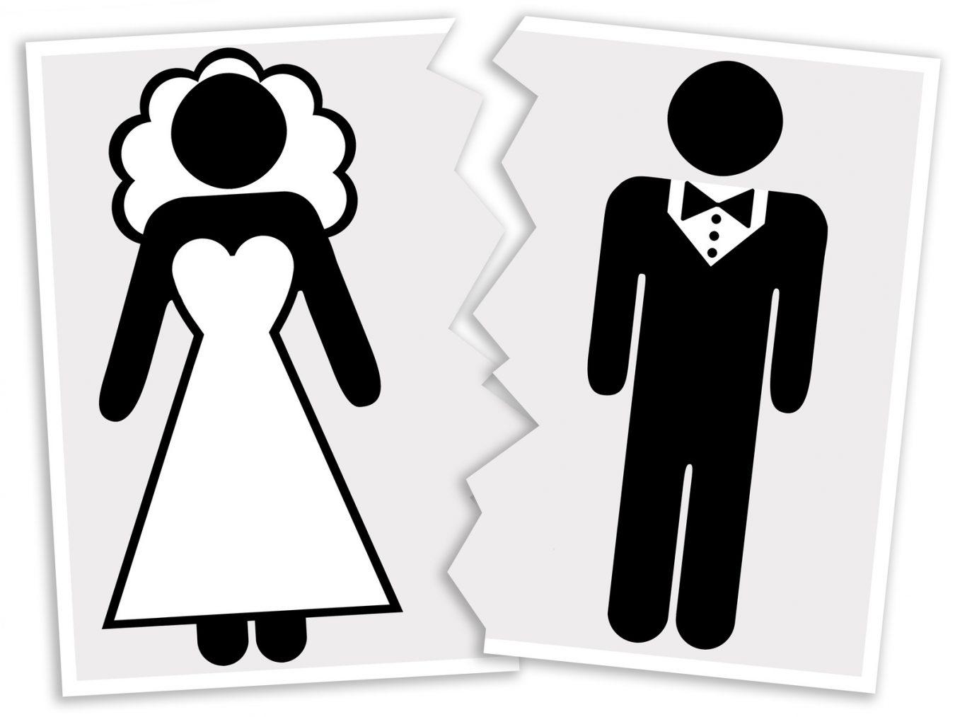 Las rupturas matrimoniales suben en Asturias un 4,2% en el primer trimestre del año