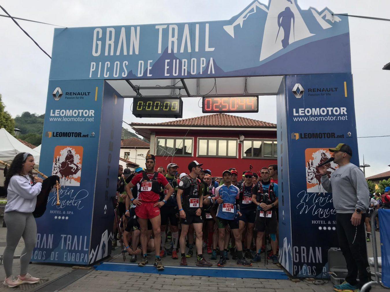 Pablo Baisón y Sara Pérez triunfan en la Gran Trail Picos de Europa