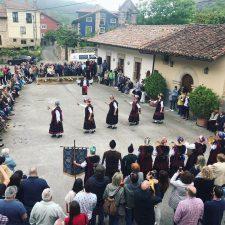 El baile del Corri-Corri de Arenas de Cabrales ya es Bien de Interés Cultural (BIC)