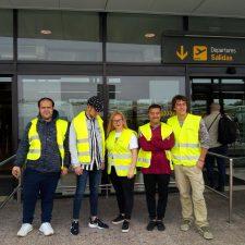 Los alumnos del programa Joven Ocúpate de Llanes visitan el Aeropuerto de Asturias