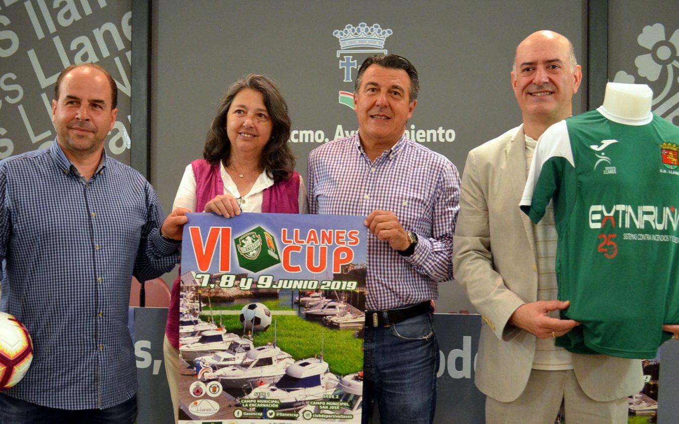 La Llanes CUP de fútbol reunirá a 700 deportistas el próximo fin de semana y dejará cien mil euros en el concejo