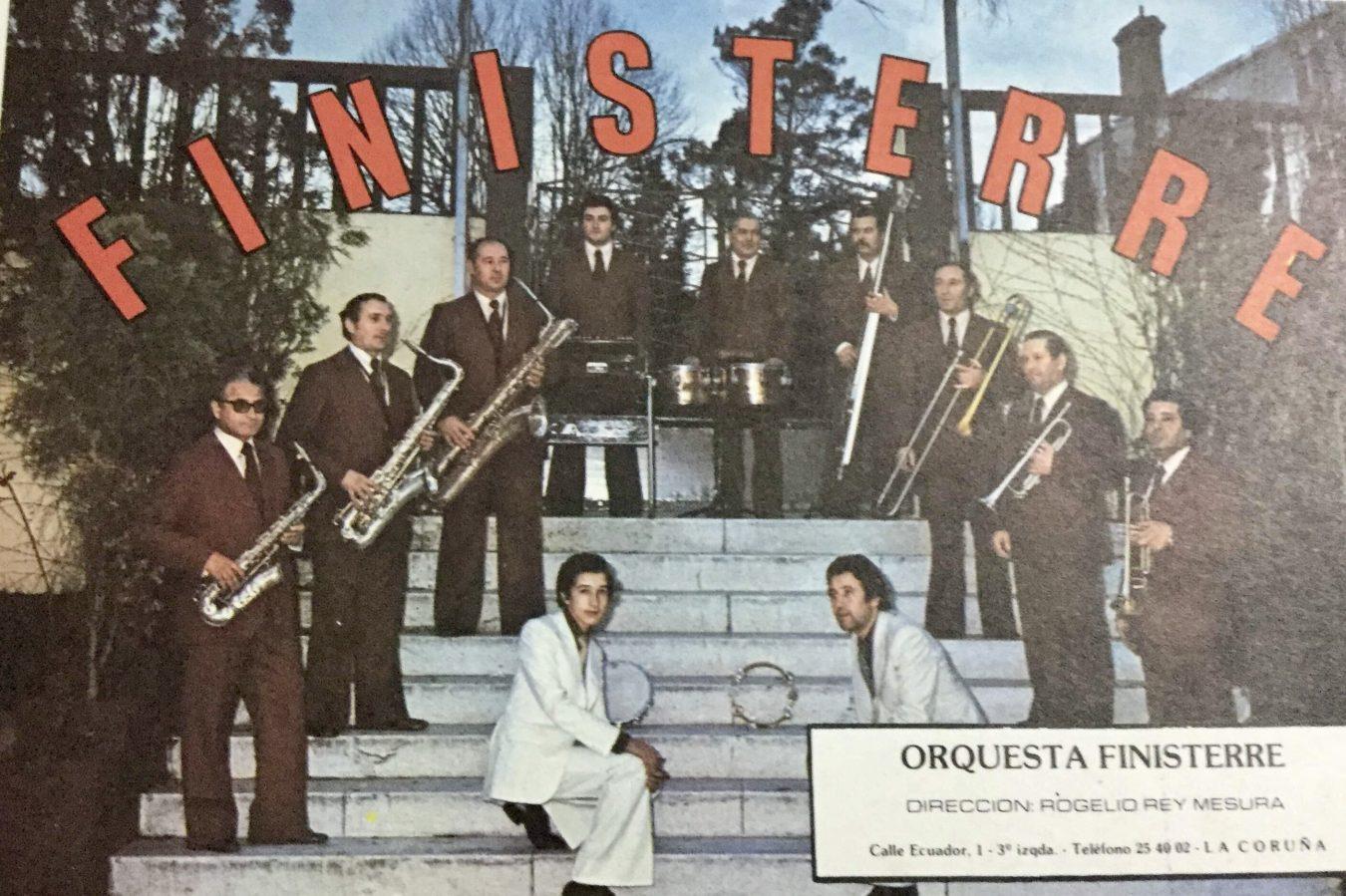 La orquesta Finisterre pasó por Ribadesella 40 años después de su actuación en Collera