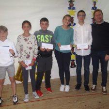 La Asociación Pico Peñamellera entrega los premios de los concursos escolares convocados en su 25º Aniversario