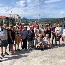 Una amplia delegación de Sanguinet visita Ribadesella para fortalecer su hermanamiento