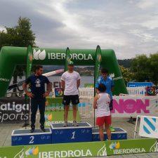 La Cultural clasifica a tres de sus piragüistas para el Europeo de Maratón: Llorens, Cimentada y Perea
