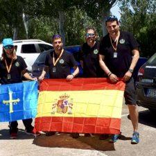 Subcampeonato de España de Tiro Olímpico para el equipo asturiano capitaneado por 4 tiradores de Cangas de Onís