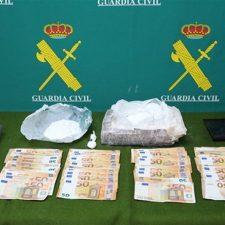 Desarticulada una banda que traficaba con droga entre Asturias y Cantabria