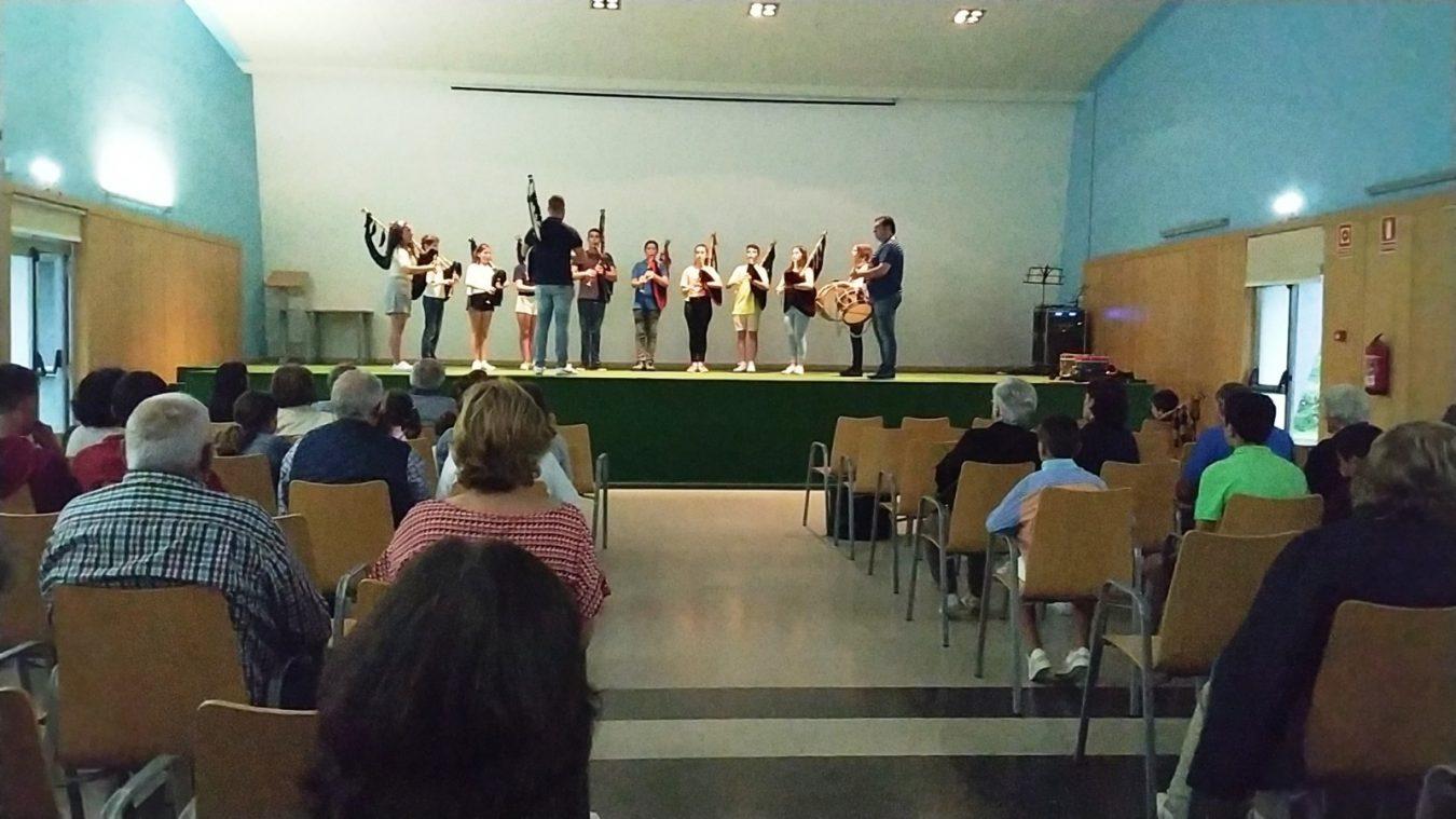 Concierto fin de curso de la Banda de Gaitas de Onís