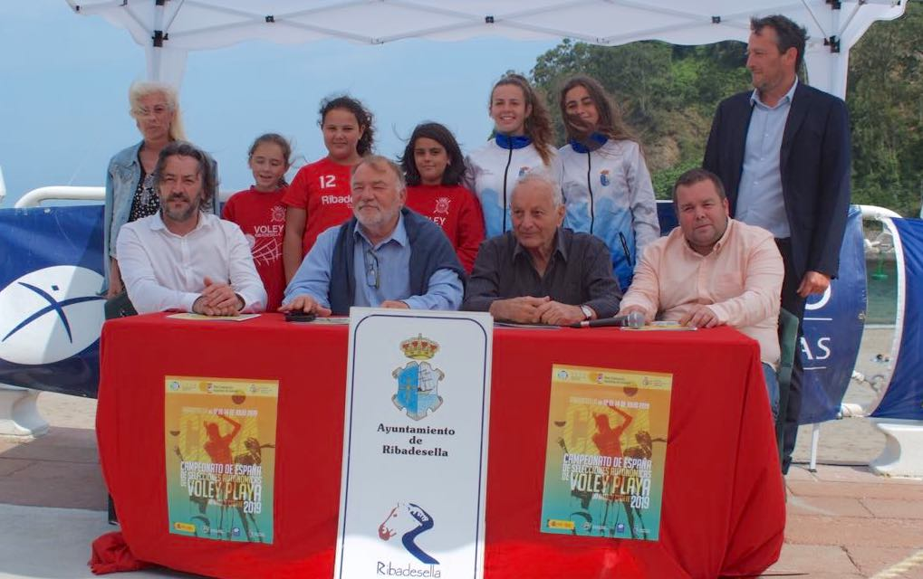 Ribadesella acoge el Campeonato de España de Selecciones Autonómicas de Voley-Playa Infantil y Cadete