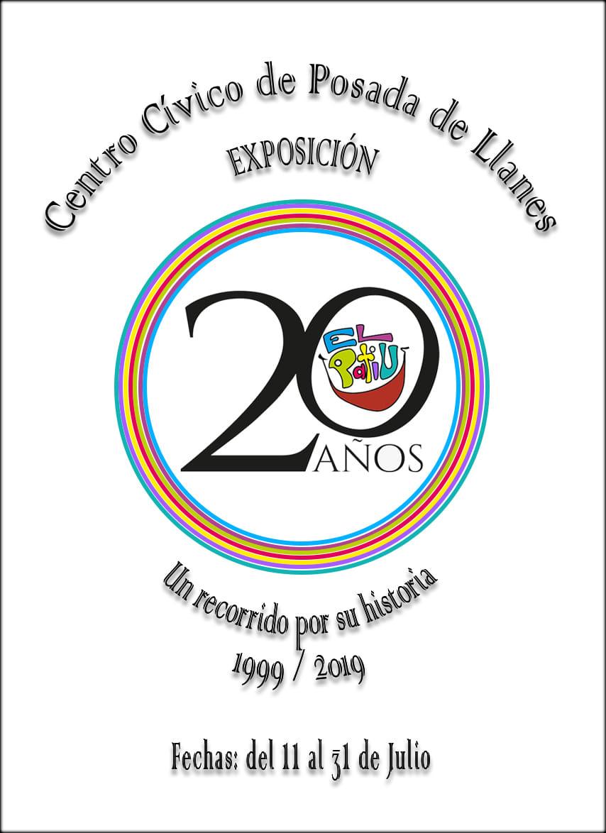 Posada acoge una exposición conmemorativa de los 20 años de la Asociación El Patiu