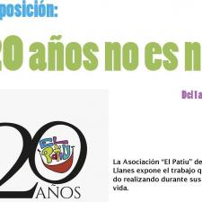 La exposición del 20º Aniversario de la Asociación El Patiu se llevará a Panes (Peñamellera Baja) en el mes de agosto