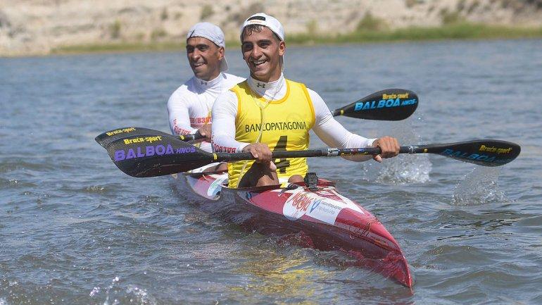 Los argentinos hermanos Balboa estarán en la salida del Sella en K2. Ramalho y Birkett lo harán en K1