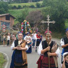 Gamonéu de Cangas celebra la Fiesta de Santa María Magdalena