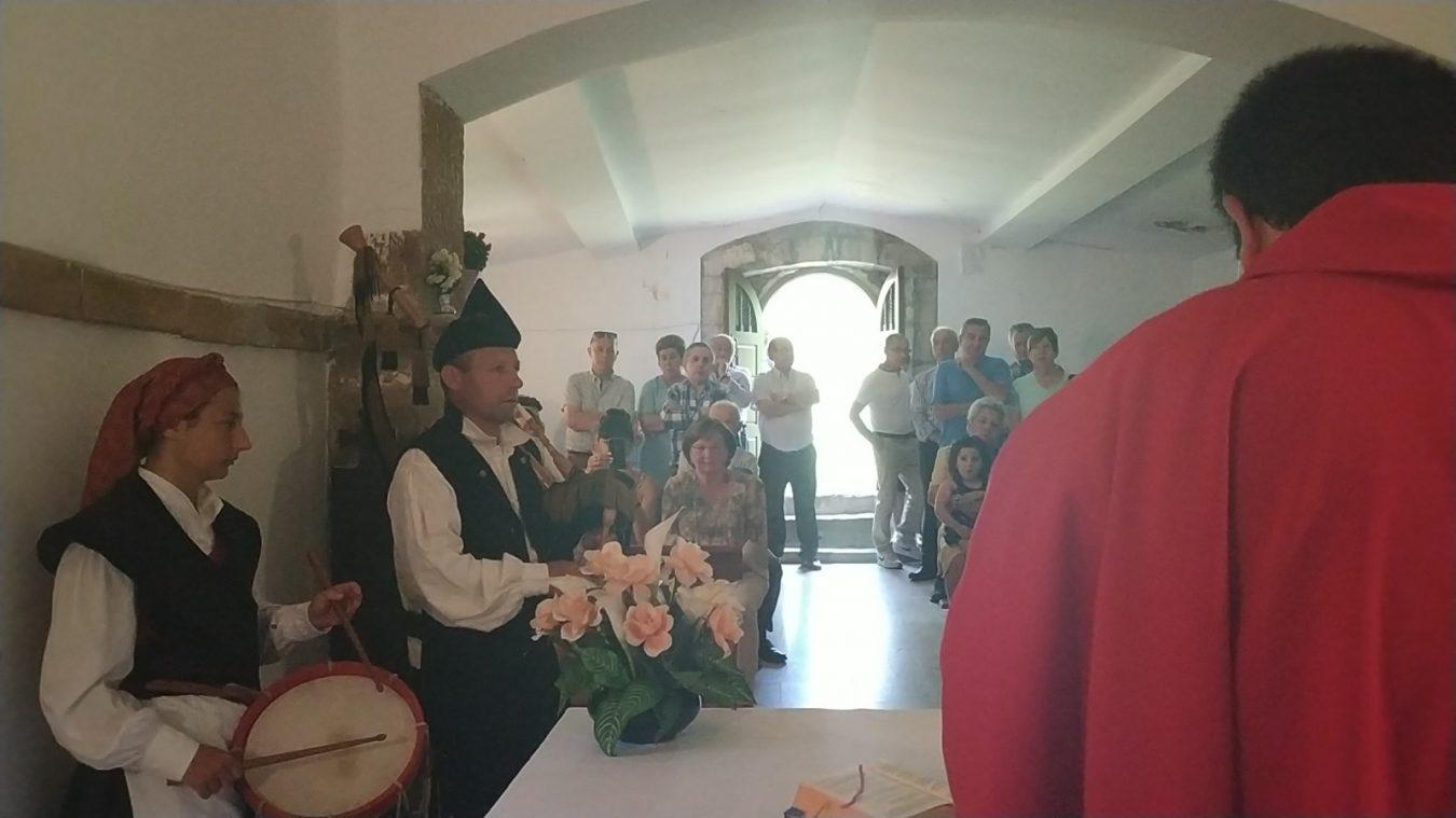 Gamoneu de Onís celebra la fiesta de Santa Marina