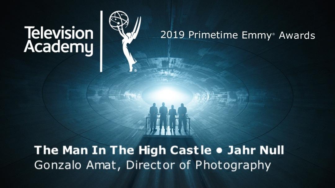 Tras dar sus primeros pasos en Ribadesella, Gonzalo Amat busca el sueño de un Premio Emmy