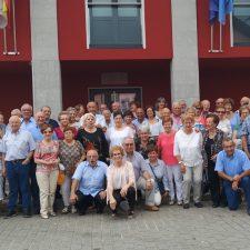 Comida anual de los emigrantes alemanes retornados en Benia de Onís