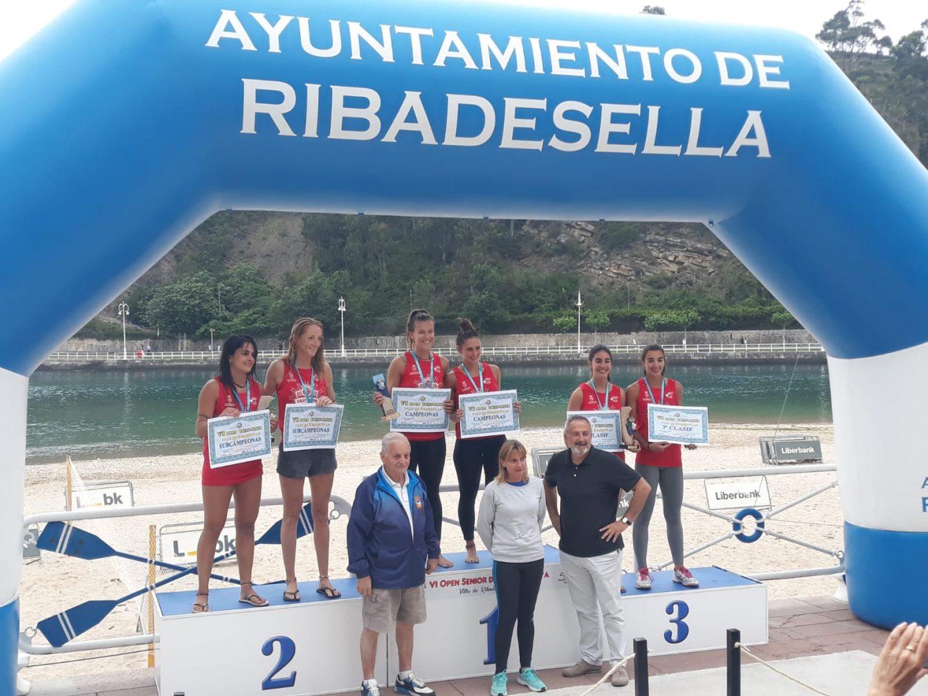 Ribadesella cierra un fin de semana de alto nivel competitivo en Voley-Playa