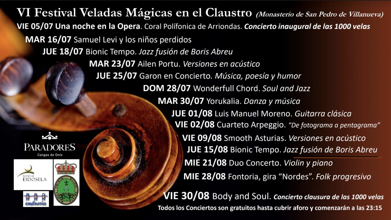 Una Noche de Ópera abrirá las Veladas Mágicas de este verano en el Parador de Cangas de Onís