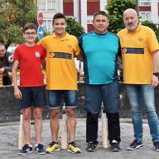 Ricardo y Pablo se meten en la fase final del Torneo El Abuelo de Pola de Siero