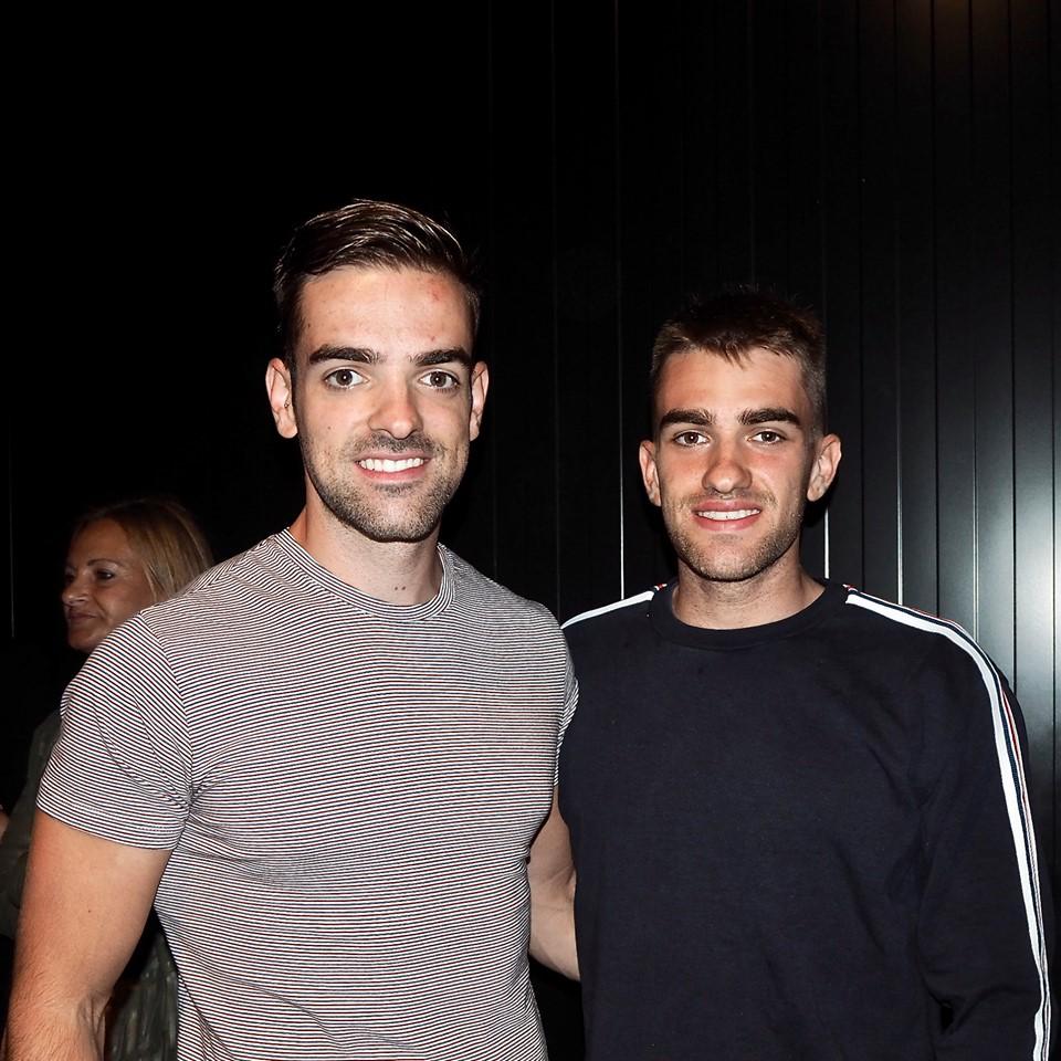 Los hermanos Pelayo y Pablo Roza (SCD Ribadesella) Campeones de España K2 1.000m