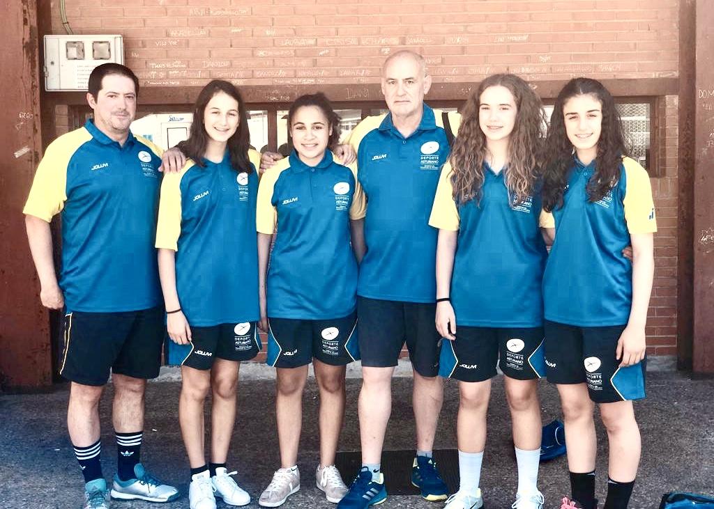 La Selección Asturiana de Balonmano, con cuatro riosellanas, gana el primer partido del Torneo Nacional de verano