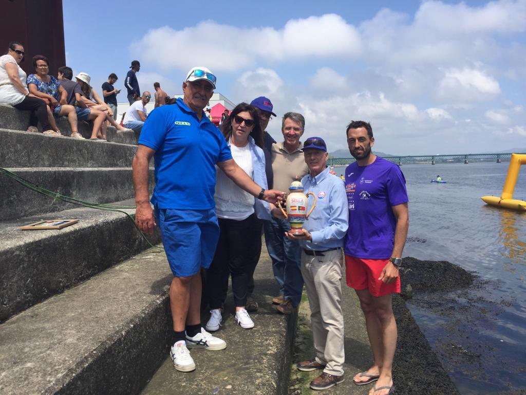 Las aguas del río Sella ya discurren por las del río Lima en Portugal