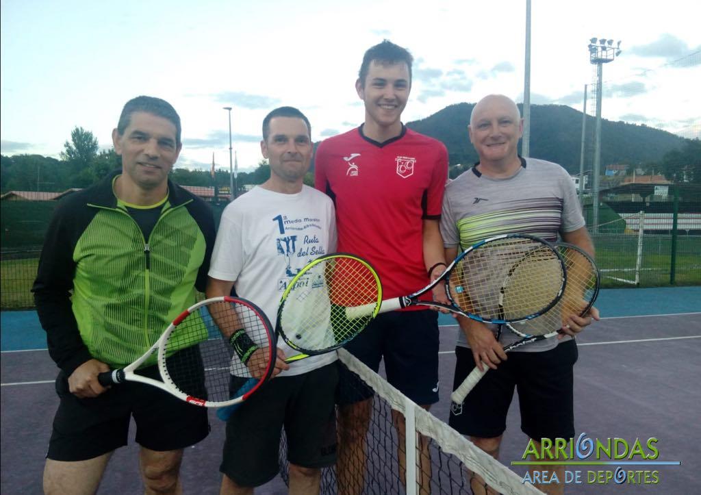 Finaliza el Torneo de Tenis de Arriondas después de 91 partidos disputados