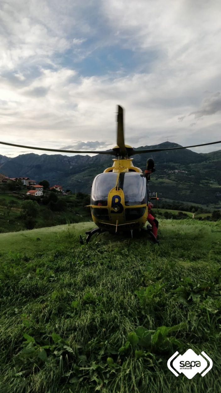 Localizada sana y salva una senderista desorientada en Peñamellera Baja