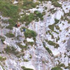 Rescatados dos senderistas que quedaron enriscados entre Sotres y Tielve, en el concejo de Cabrales