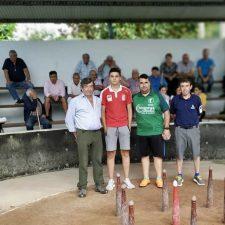 Sergio y Rivas juegan el sábado la gran final del Torneo de Bolos Villa Mestas de Con