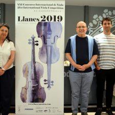 23 intérpretes competirán en el Concurso Internacional de Viola Villa de Llanes