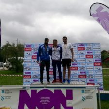 El canoista riosellano Diego Suárez, bronce en el nacional de maratón