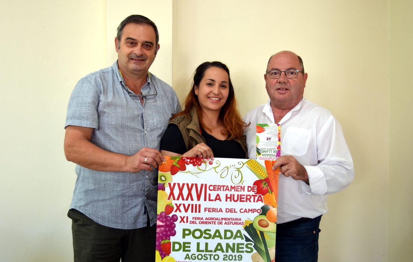 Posada espera mas de 120 participantes en el Certamen de la Huerta y Feria del Campo previstos para el fin de semana