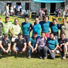 Los Chavales de Piloña ganan el Concurso de Tiro de Cuerda del Asturcón