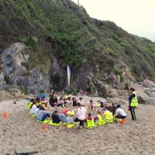 La campaña de educación ambiental La Mar de Limpio llega este martes a las playas de Asturias