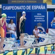 Una canguesa en el Campeonato de España de Natación