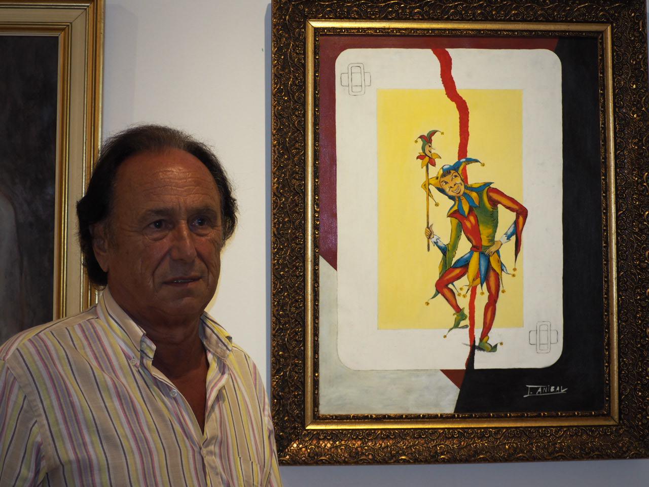Las ironías de J. Aníbal llegan a la Casa de Cultura de Ribadesella