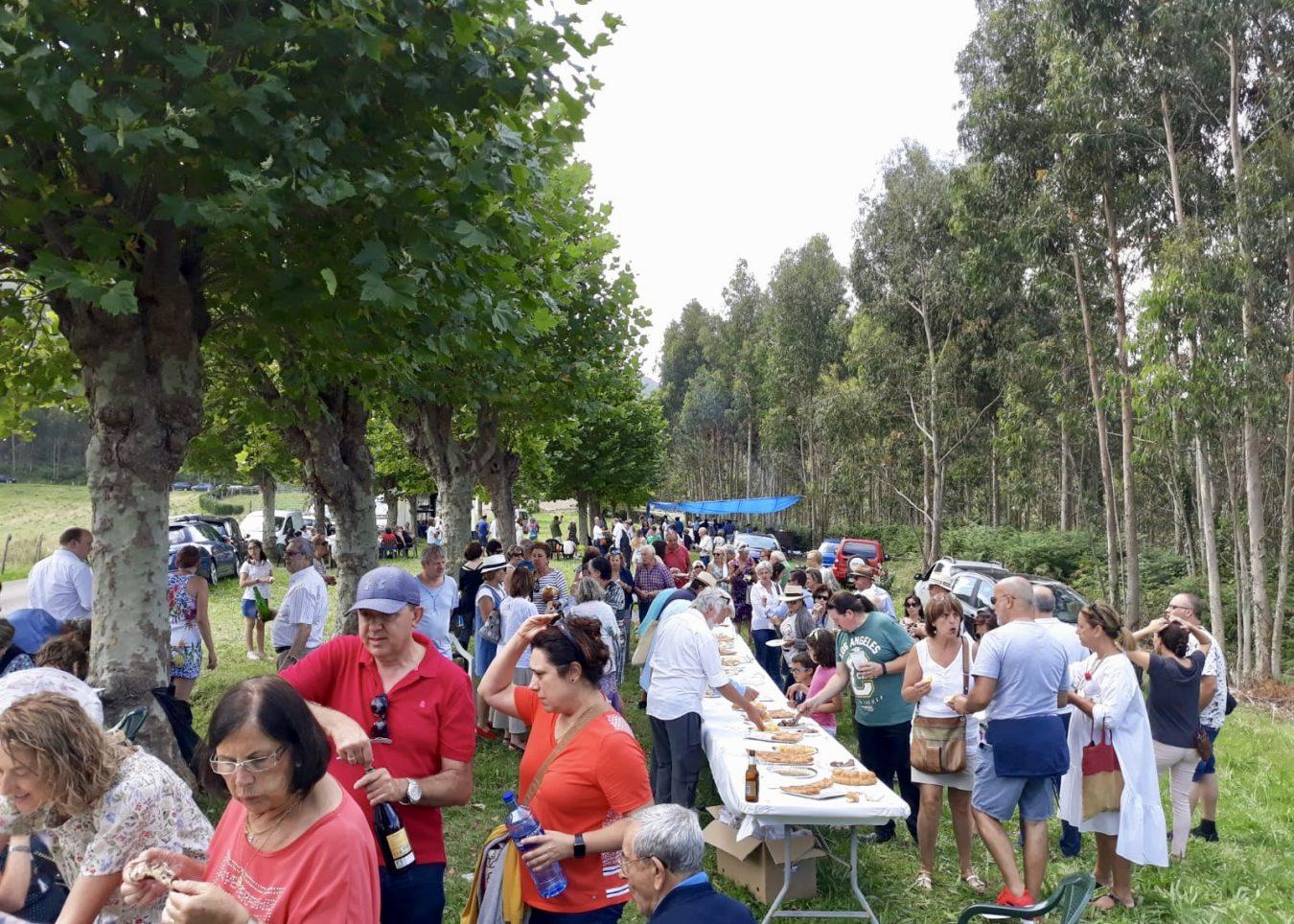 Noceu (Ribadesella) celebra la Fiesta de San Salvador de Moru