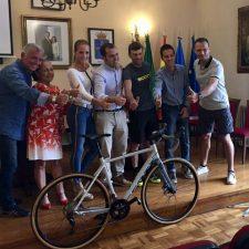 Esta mañana fue presentada la segunda SubeLagos, marcha cicloturista que se celebrará el 21 de septiembre