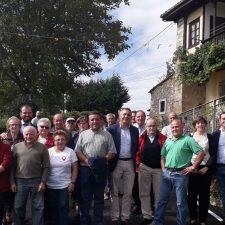 Inauguradas las obras de mejora llevadas a cabo en la carretera San Román-Argandenes en el concejo de Piloña