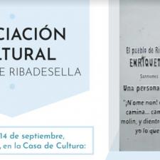 ACAR organiza una charla sobre la obra de la escritora riosellana Enriqueta González Rubín