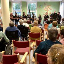 Hoy se celebró el I Concierto Solidario de Cabrales a favor de Cáritas